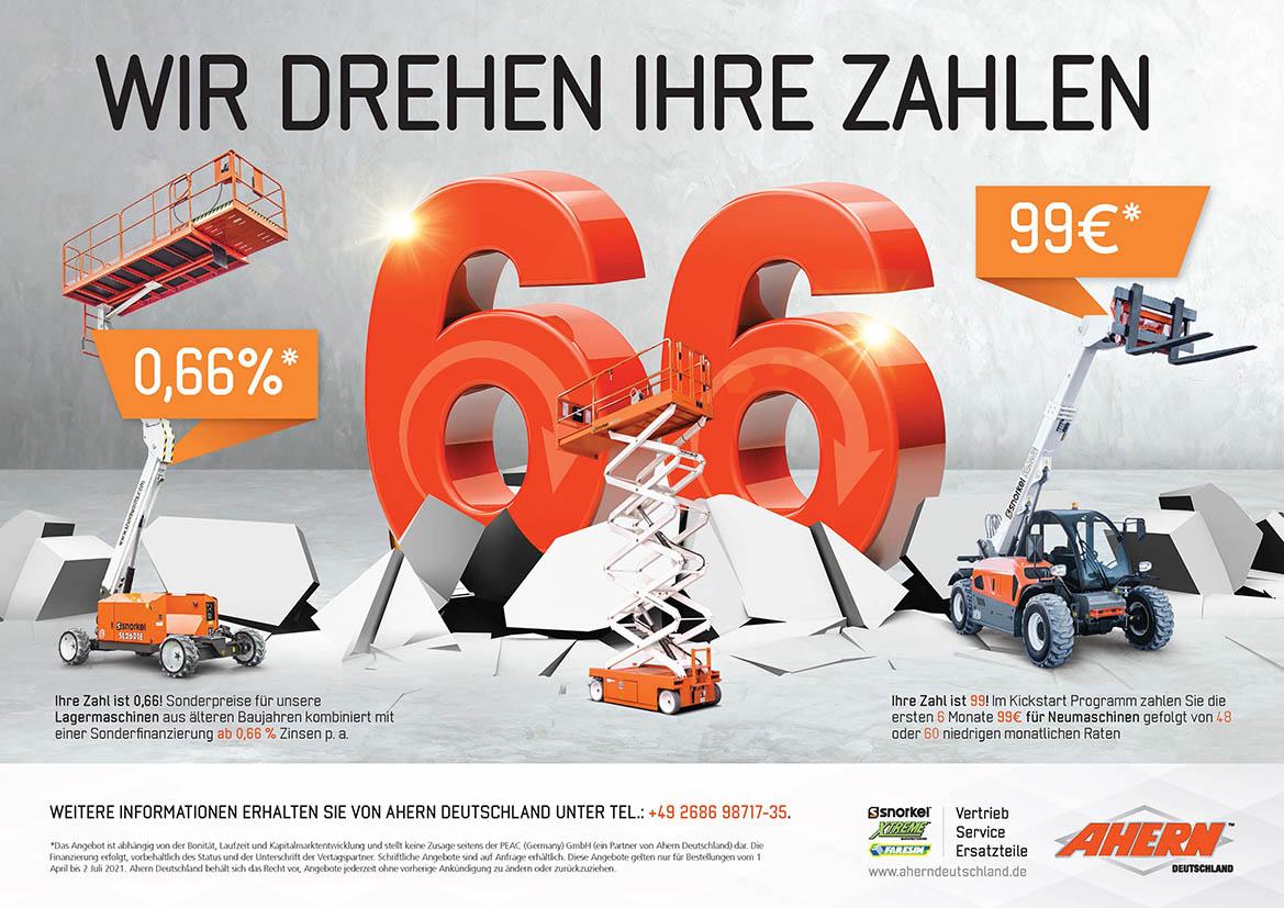 Zwei Neue Finanzierungsangebote Für Ahern Deutschland Kunden